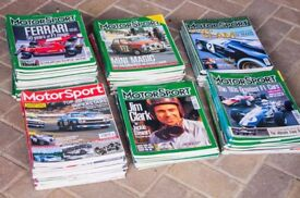 150+ classic car magazines – Motor Sport and Classic & Sports Car – 1996–2014
