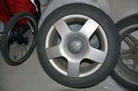 Original Audi 16' rims & winter tires package