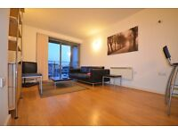 Top floor 1 bed apartment, gym, concierge, swimming pool, 15 minutes to London Bridge