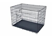 x large 42 inch long dog cage in vgc dagenham essex