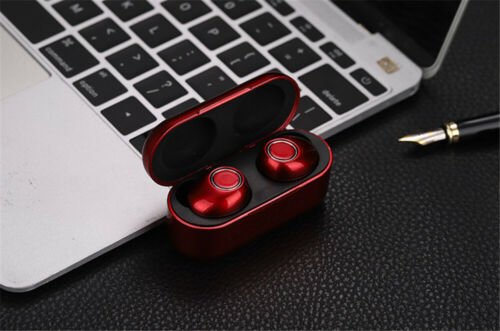 Bluetooth TWS Headset Wireless Sport Stereo Headphones Earphone Earbuds With Mic Cell Phone Accessories