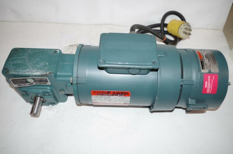 RELIANCE ELE. 3/4HP AC MOTOR SPEED REDUCER & BRAKE  208-230/460VAC # P56H3441UNW
