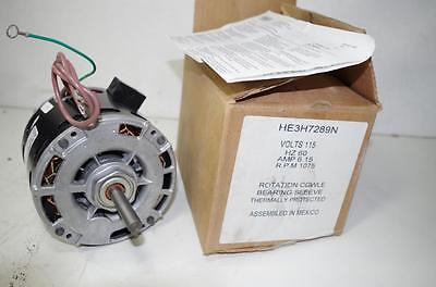Ao Smith 13hp Ac Motor Heh289n 115vac 60hz. 6.15amps 1075 Rpm  New