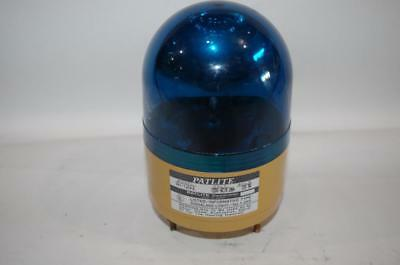 Patlite Rh-120ul Rotating Beacon Signal Light 120vac Blue