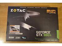 ZOTAC GEFORCE GTX 980ti AMP EXTREME EDITION 6GB GPU