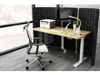 Standing Desk Frame Electric Dual Motor (Last one left - BLACK color only)