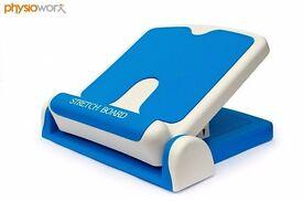 Physioworx Adjustable Stretch Board | Calf & Hamstring Stretch Board | Plantar Fasciitis Slant Board