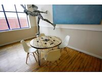 Cable Drum Dining Table