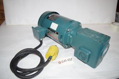 Reliance Electric 12hp Ac Motor Speed Reducer P56h5069mql Dodge 201 Ratio