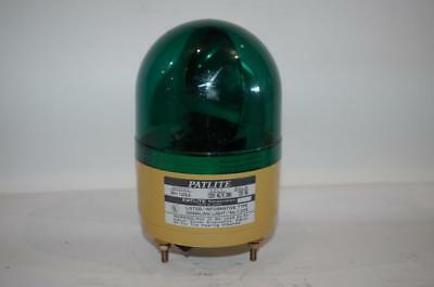 Patlite Rh-120ul Rotating Beacon Signal Light 120vac Green