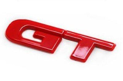 GT Logo Red Emblem Badge Car Exterior Accessories