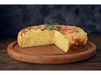 Catering Pre-order. Spanish Omelette