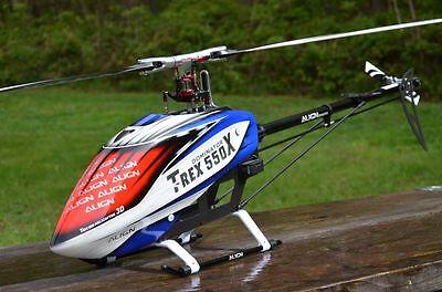 Align 550X Dominator RTF Helicóptero + Piloto Automático Axón + Futaba T14SG
