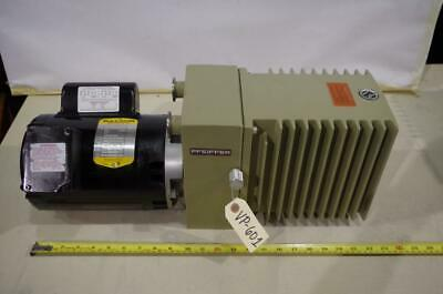 Pfeiffer Du0-012a Vacuum Pump 34hp Baldor Motor 115-208230vac 1ph. 1725