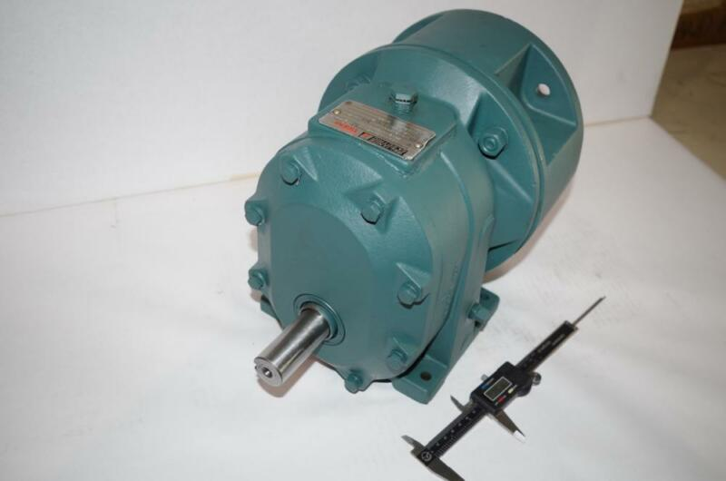 RELIANCE DODGE TIGEAR # 180SM21A SPEED REDUCER GEARHEAD RATIO: 2.7:1 683 IN LBS.