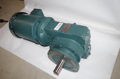 Baldor 1.5hp Ac Motor Speed Reducer 35w701w206g1 208-230460vac 58 Rpm