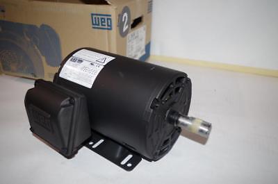 Weg 2 Hp Ac Motor 3510 Rpm 208230460vac Fr 145t  Vts-00236ot3e145 New