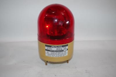 Patlite Rh-120ul Rotating Beacon Signal Light 120vac  Red
