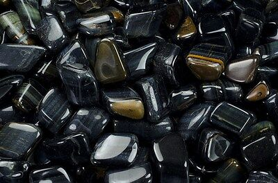 2 Pounds Tumbled Blue Tigers Eye - 'A' Grade - Reiki, Crystal Healing