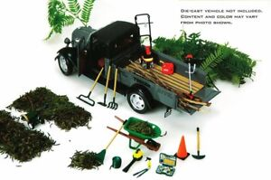 HOBBY GEAR LANDSCAPE SERVICE 1/24 SCALE DIECAST ACCESSORIES BY PHOENIX 18432