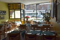 Beautiful Restaurant located in the heart of NDG!