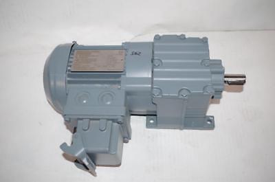 Sew-eurodrive Gearmotor R17-dr63l4asd1 41rpm 0.25kw Ip54