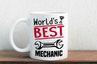 World's best mechanic mug - great gift for a