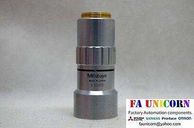 Mitutoyo 1x M Plan Apo 100 0.025 F 200 Microscope Lens Fast Shipping 35day