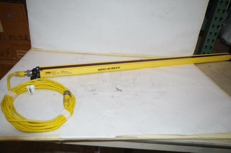 BANNER MINI-SCREEN LIGHT CURTAIN  # MSE4824Y  25FT. MATING CABLE