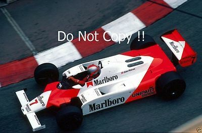 John Watson McLaren MP4B Monaco Grand Prix 1982 Photograph 2