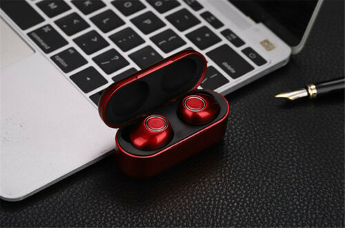 Mini Bluetooth TWS Earbuds Best Noise Cancelling Wireless Headphones Sports Gym Cell Phone Accessories