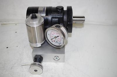 Parker Pneutech Rousseau Hydraulic Motor Pump Manifold Assy. Tb0130am130aabj