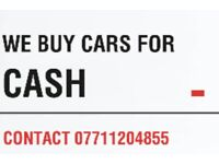 CARS WANTED - WE BUY CARS FOR CASH