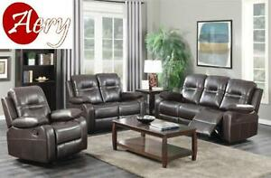 RECLINER SOFA SET ON HUGE SALE!!! CALL 4167437700