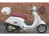 Vespa Primavera 125cc, Immaculate condition with ONLY 27 miles!