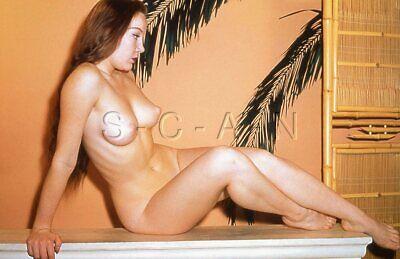 Org Vintage Nude 50s-60s 35mm Slide / Negative- Endowed- Long Hair- Artistic #11