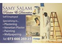 Painter and decorator 25 years of experience. Free quotes.