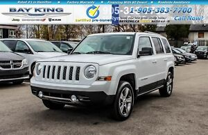 2016 Jeep Patriot HIGH ALTITUDE, 4X4, HTD LEATHER, A/C, BLUETOOT