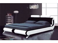LUXURY CASSINA BED WITH MATTRESS
