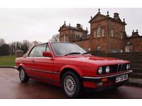 1987 BMW E30 325i Manual Convertible