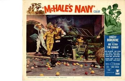 McHale s Navy 1964 Original Release Lobby Card Tim Conway Ernest Borgnine - $8.00