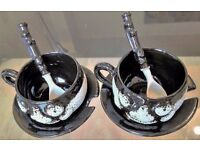 Ceramic Gift Items Coffee Set Designed by Art Serving