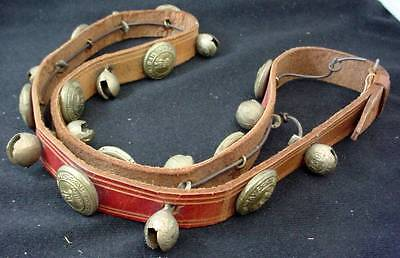 Indian Railway Railroad Conductors Belt With 10 Brass Button   10 Bells India