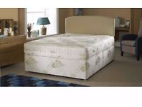Express delivery! BRAND NEW 4FT SMALL DOUBLE / 4FT 6 DOUBLE OR 5FT KINGSIZE DIVAN BED