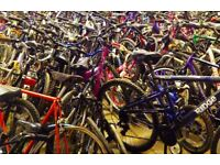 Huge range of refurbished bikes perfect for commuting to work, school or college