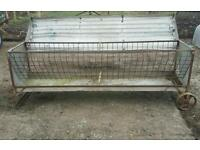 Choice of four hay feeder rack for sheep calf's stables etc