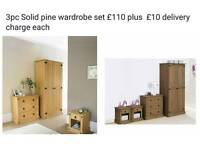 3pc wardrobe set