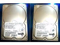"""3.5"""" HDD HITACHI Deskstar 7200 rpm 250GB + 250GB ATA/IDE can deliver locally"""