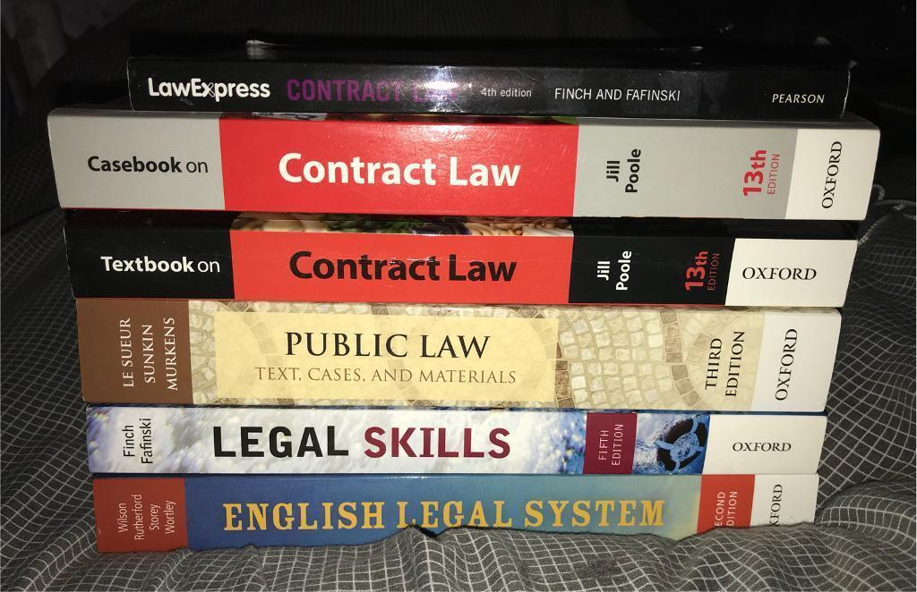 LAW First 1st Year UNI UNIVERSITY BOOKS