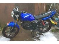 2015 125 motorcylce